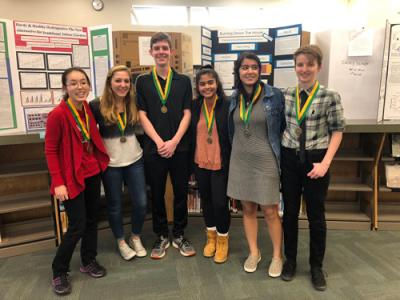 picture of 1st place science fair winners