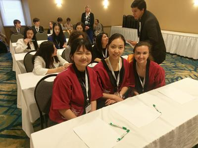 picture of students at Japan Bowl